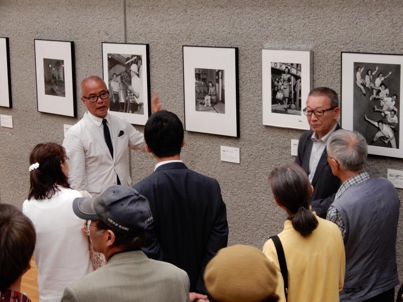 昨日行われた対談イベントでの林先生と藤森先生