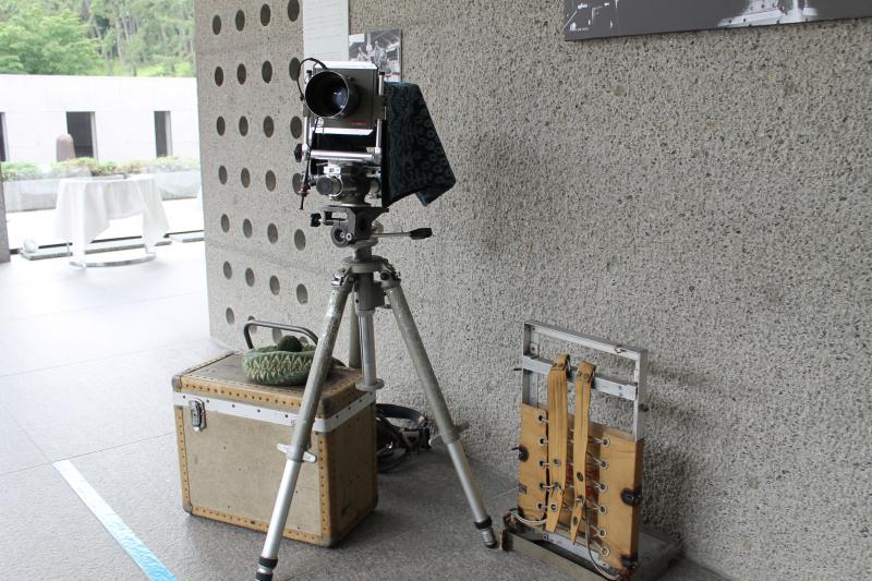 土門拳の撮影道具も特別公開中